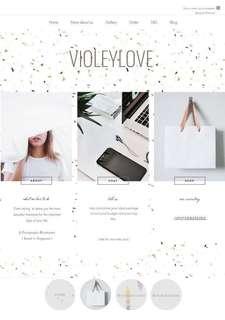 Violeylove website/collaboration