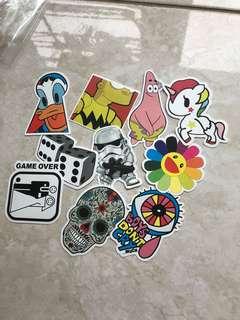 Laptop stiker