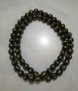 Black Onxy Beads