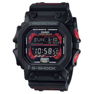 CASIO G-SHOCK GWX-56 series GXW-56-1A 黑紅 MULTI BAND 6 電波受信機能 TOUGH SOLAR 光動能 GSHOCK GWX56