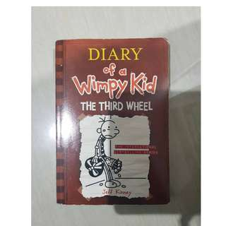 Diary of a Wimpy kid: The Third Wheel #kanopixcarousell