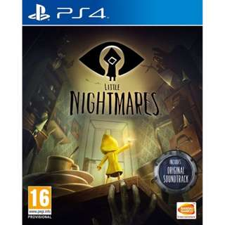 [NEW NOT USED]  PS4 Little Nightmares SONY PlayStation Bandai Namco Action Games