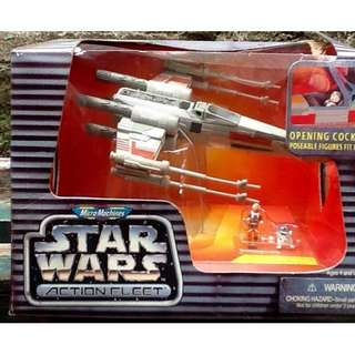 "STAR WARS ACTION FLEET ""Luke's X-wing Starfighter"""