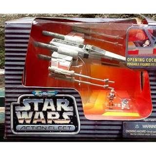 "STAR WARS ACTION FLEET ""Luke's X-wing Starfighter"""