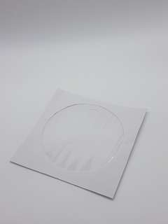 CD paper sleeves 100pcs per pack white