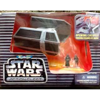 "STAR WARS ACTION FLEET ""Darth Vader's Tie Fighter"""
