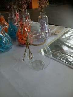 Plastic light bulb bottle