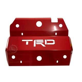 TOYOTA HILUX VIGO (TGF-017) STONE GUARD RED WITH TRD WORD