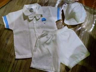 christening baby boy clothes 6months preloved