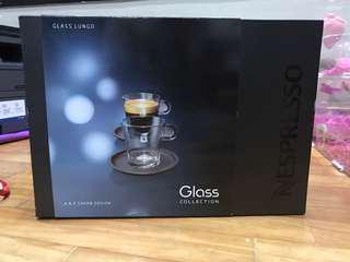 NESPRESSO Glass Lungo (BNIB)