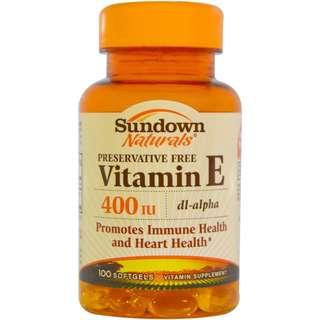 🚚 Vitamin E