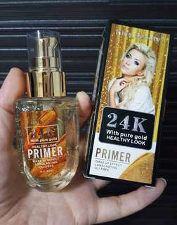 💄 Kiss Beauty 24K Pure Gold Healthy Look Primer Make Up Base Wake Up Effect Long Lasting Oil Free