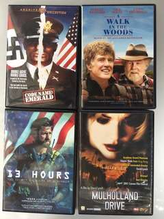 DVDs (not available locally)