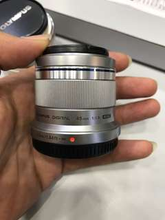 Olympus 45mm F1.8 M.Zuiko Digital Lens