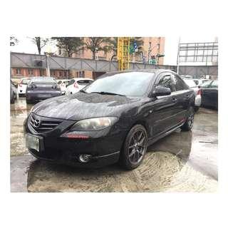 【老頭藏車 】2004 Mazda 3『0元就把車貸回家 』『全貸,超貸,免保人』中古 二手 汽車