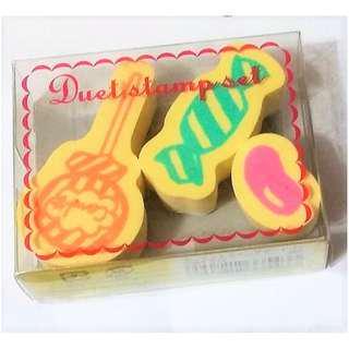 Kodomo no Kao Rubber stamp - Candy