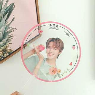 🍃ZHENGTING / JUNGJUNG TRANSPARENT FAN