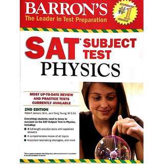 Barron's SAT Physics Subject Test