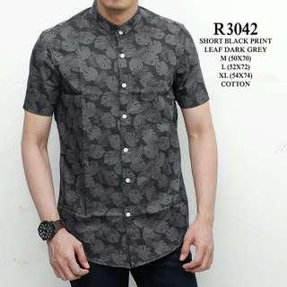Kemeja pria motif batik WL R3042
