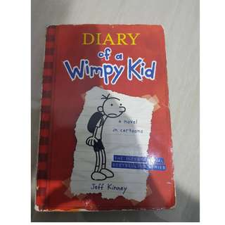 Diary of Wimpy Kid english version #kanopixcarousell