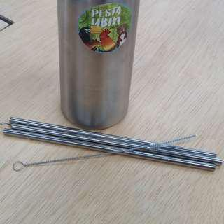 1.Adventure Stainless Steel Straw