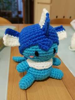 Pokemon crochet - Vaporeon