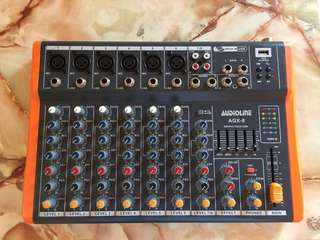 Audio Line Mixer