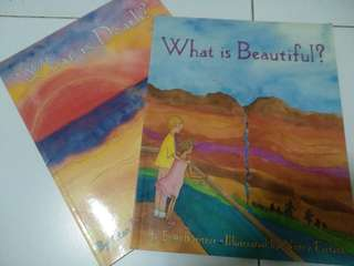 2 books - What is Beautiful and Death