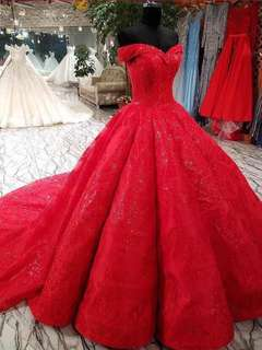 ♦️♦️♦️Evening Gown Wedding Gown♦️♦️♦️