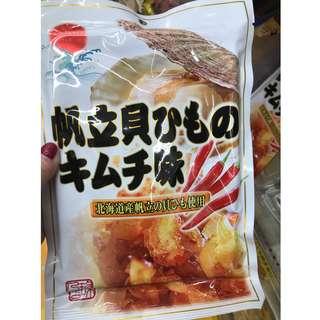 #享樂生活日本六月連線  辛辣 干貝燒85g  Spicy scallops 85g