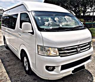 SAMBUNG BAYAR / CONTINUE LOAN  FOTON TRANSPORTER 2.8 DIESEL TURBO 2.8 MANUAL FULL SPEC 13SEATER