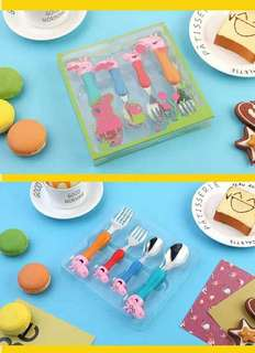 Peppa pig 餐具set