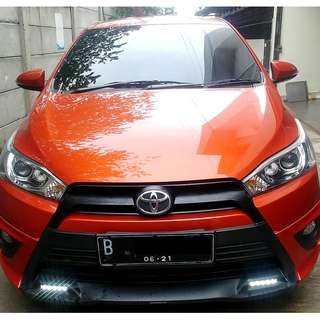 Toyota Yaris 2016 S  TRD MT Manual 2016 Oren Orange - Pajak 1Th Full KM 17Rb