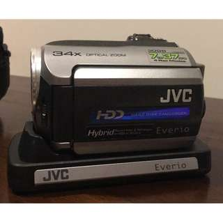 JVC Everio G Series Hard Disk Camcorder