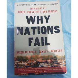 Why Nations Fail #kanopixcarousell
