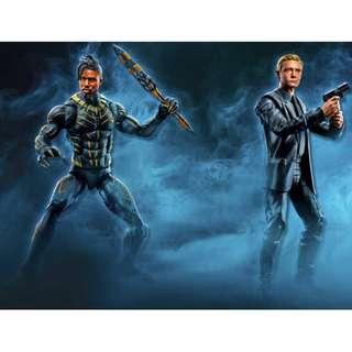PO: Marvel Legends Series - Black Panther - Everett Ross & Erik Killmonger