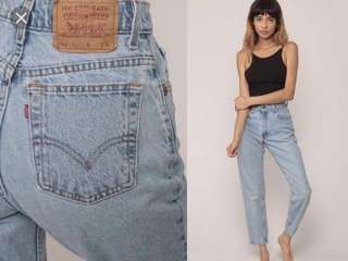 1998 levi high waisted jeans true vintage