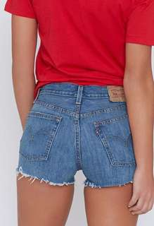BNWT Levi's denim shorts
