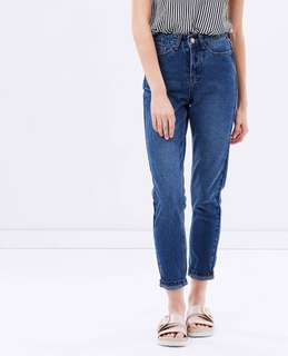 Dark blue Mom jeans - Size 28