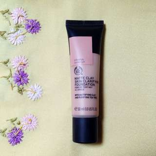NEW! The Body Shop Matte Clay Foundation