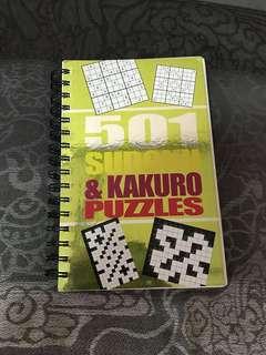 501 Sudoku & Kakuro Puzzles