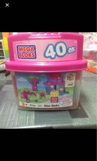 Megabloks 40pcs