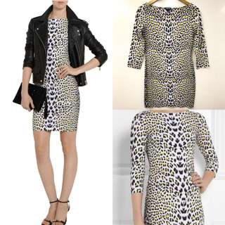 長身裙 Just Cavalli animal prints dress size M