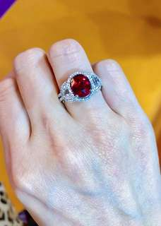 GRS UNHEATED RUBY 3.09CT