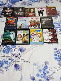 DVD Movie & TV Series Lot 100% Original
