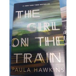 The Girl On The Train Hardcover #kanopixcarousell