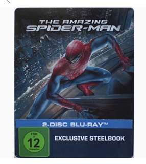 The Amazing Spider-Man (Blu Ray + Special Edition Steelbook)