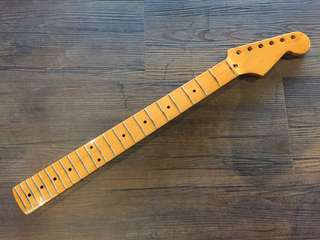 Vintage Guitar Neck Maple - Strat Standard Headstock