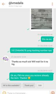 Proof of Purchase as Legit Seller [KEDS Shoes]