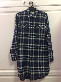 Blue Giordano flannel size L #mscfashion